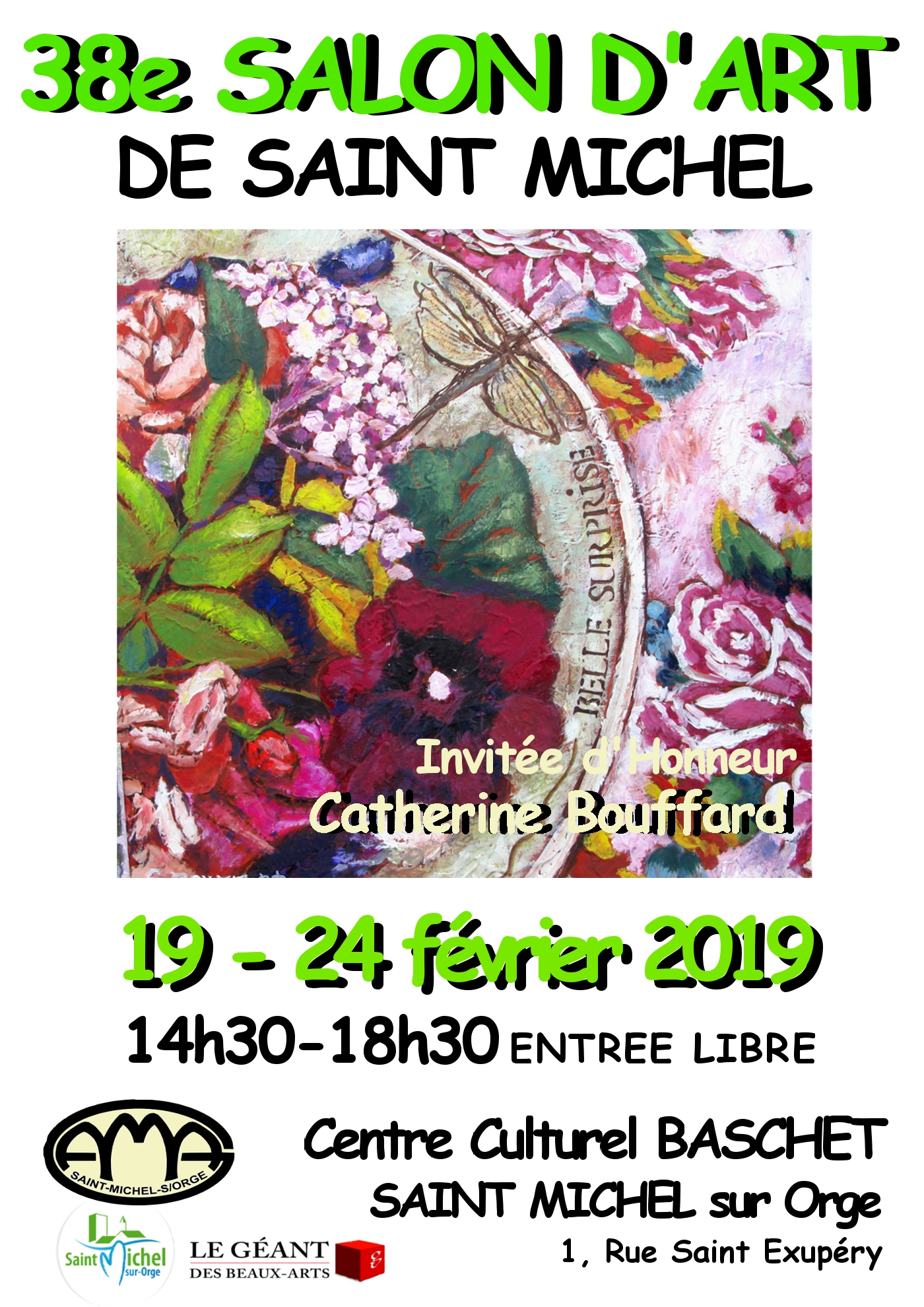 38 eme Salon d'art de Saint Michel