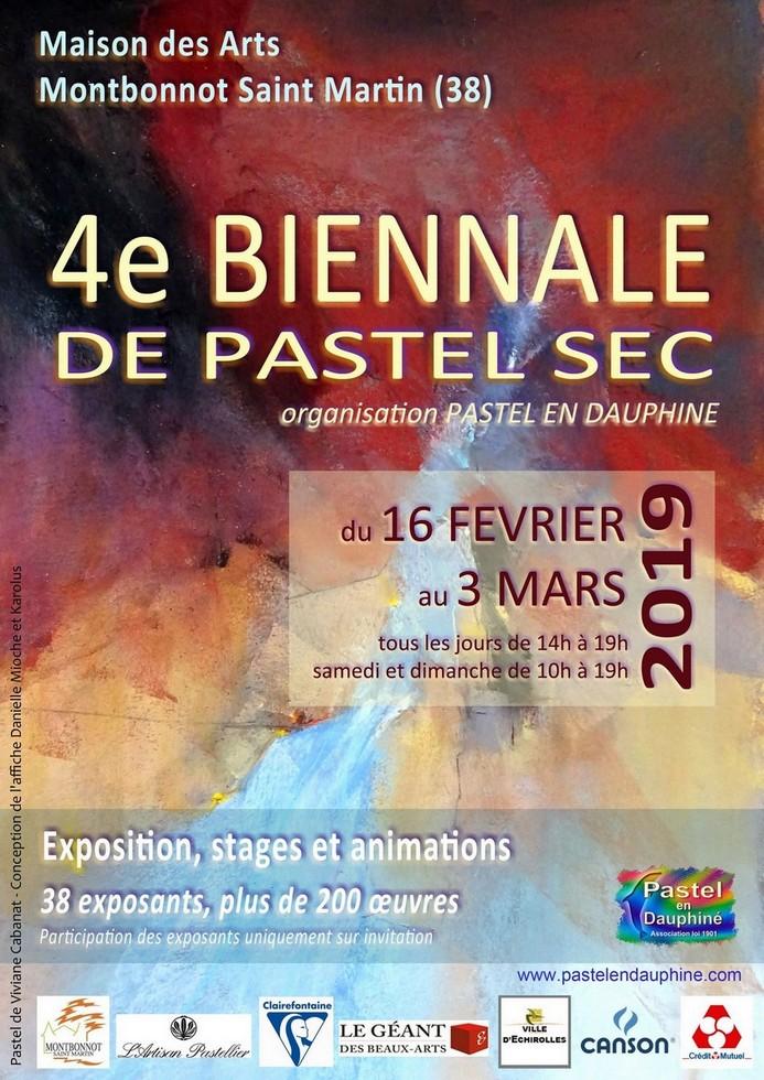 4ème Biennale Pastel en Dauphiné