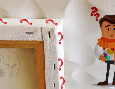 Bord d'un tableau : le peindre ou non ?
