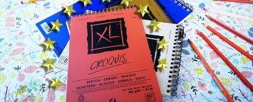 Bloc Croquis XL - Mon Carnet Super Star !